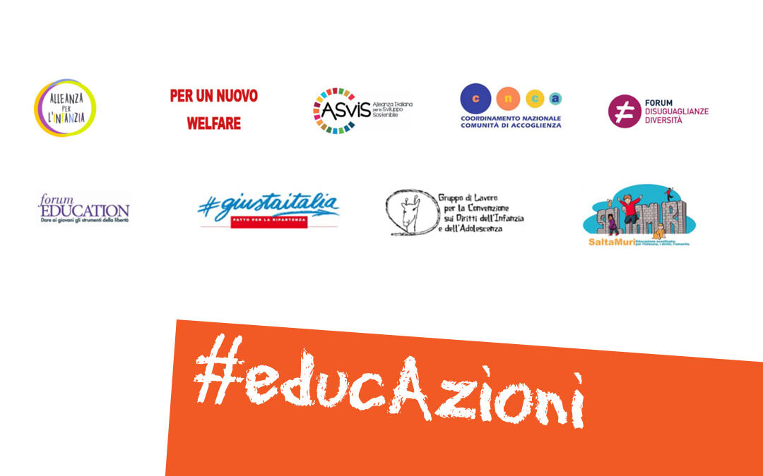 Infanzia e adolescenza: nove reti della società civile scrivono a Conte, urge un piano strategico nazionale